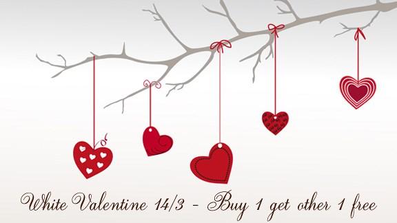 White Day diễn ra sau Valentine đúng 1 tháng, vào ngày 14/3, là dịp để  những bạn nam đáp lễ các bạn nữ hoặc là ngược lại.