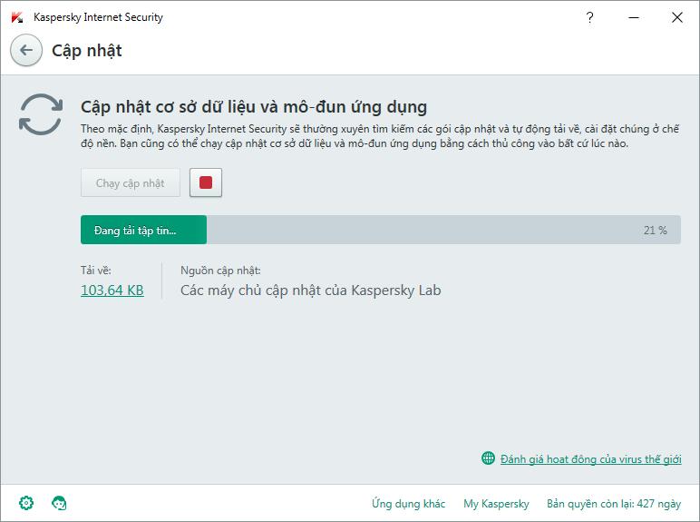Kaspersky Internet Security 2016 Repack Tiếng Việt - Tự động kích hoạt đến năm 2017