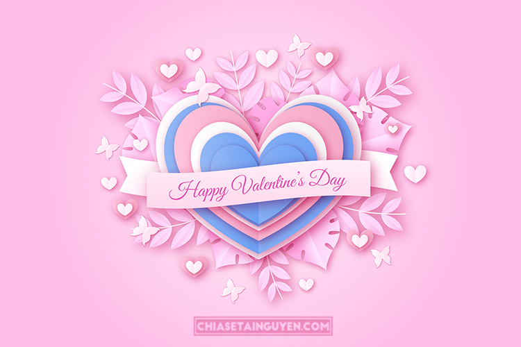 Share file Valentine Vector(AI), Background Valentine đẹp miễn phí