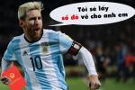 Ảnh chế World Cup 2018: Bộ ảnh chế về Messi sau trận thua tan nát nủa Argentina