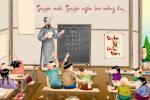 21 truyện cười ngắn làm báo tường 20/11 về thầy cô hay và hài hước nhất