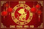 Download PSD chúc mừng năm mới 2020, PSD thiệp chúc tết 2020 đẹp