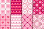 Chia sẻ vector valentine nền họa tiết trái tim đẹp
