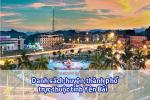 Danh sách các huyện, thành phố trực thuộc tỉnh Yên Bái 2020