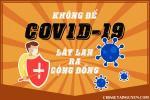 Bộ tranh cổ động phòng chống dịch covid-19 ấn tượng