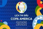 Lịch thi đấu và kết quả Copa America 2021