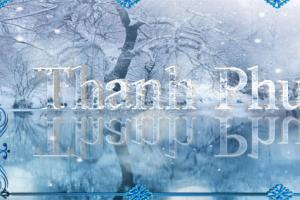 Share psd cover bìa chữ tuyết 3D