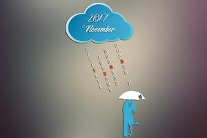 Chia sẻ bộ lịch chào tháng 11/2017 đẹp nhất