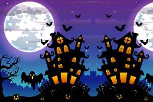 Chia sẻ  Vector chủ đề Halloween