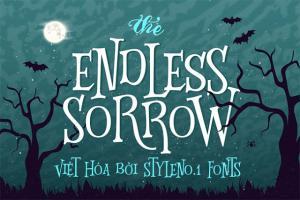 Font chữ Halloween : Endless Sorrow Việt hóa