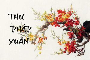 Thư pháp xuân: Font chữ giúp mọi người trở thành ông Đồ