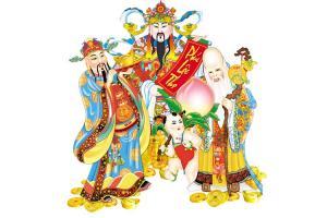 Bộ sưu tập hình Phúc Lộc Thọ & Kim Đồng Ngọc Nữ dành cho trang trí Tết