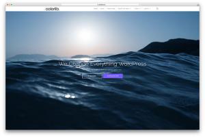 Chia sẻ theme Shapely  Responsive WordPress đẹp và miễn phí