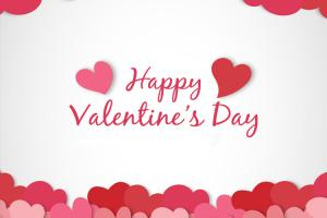 Chia sẻ  Vector trái tim tình yêu cho thiệp Valentine