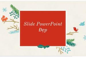 Chia sẻ  10 mẫu slide PowerPoint đẹp và đơn giản để  làm các bài thuyết trình phần 1