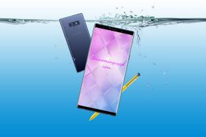Chia sẻ Mockup PSD Samsung Galaxy Note 9