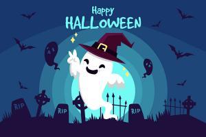 Chia sẻ bộ banner, vector chủ đề Halloween mới nhất 2018