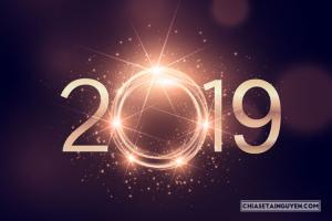 Chia sẻ Vector năm mới 2019, ảnh nền background vector 2019 tải free