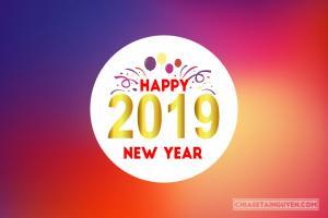 Tải vector chúc mừng năm mới 2019 - Vector tết 2019 Free