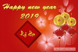 Chia sẻ file PSD năm mới 2019 - PSD nền chúc tết Kỷ Hợi tải miễn phí
