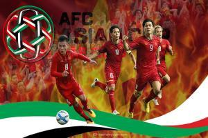 Chia sẻ banner cổ vũ bóng đá Việt Nam  Asian Cup 2019 chiến thắng