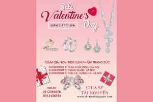 Chia sẻ  PSD  thiết kế banner quảng cáo Valentine 14-02