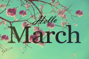 Top ảnh bìa cover facebook tháng 3 - Hello March đẹp cực chất