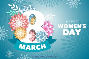 Free file vector ngày quốc tế phụ nữ 8/3 - Happy Womens Day Vector