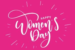 Hình ảnh bộ chữ Happy Womens Day PNG đẹp miễn phí