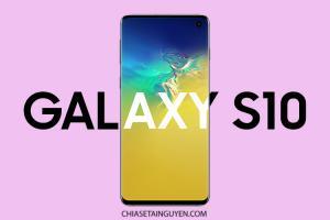 Chia sẻ PSD Mockup Samsung Galaxy S10 Đẹp Miễn Phí
