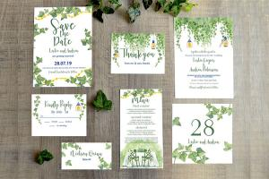 Download PSD thiệp cưới hiện đại đẹp miễn phí