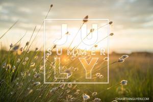 Tổng hợp bộ ảnh bìa, cover facebook chào tháng 7 - Hello July Mới nhất
