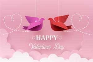 Vector background ngày lễ tình nhân valentine đẹp
