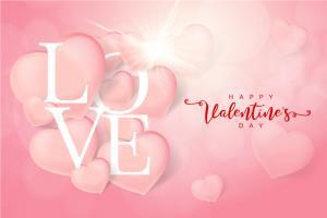 Vector background trang trí valentine đẹp miễn phí