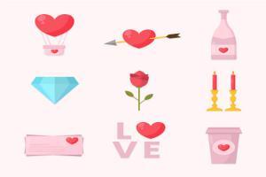 Tải vector trang trí valentine đẹp cho ngày lễ tình nhân 14/2