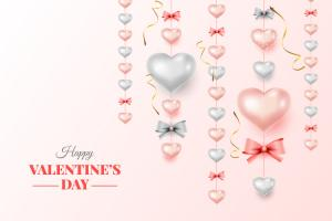 Download vector background valentine đẹp nhất miễn phí