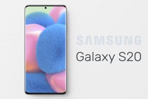 Tải Mockup Samsung S20 miễn phí file PSD tuyệt đẹp