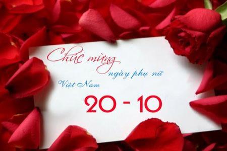 Bộ thiệp hoa chúc mừng ngày 20-10 đẹp và ý nghĩa