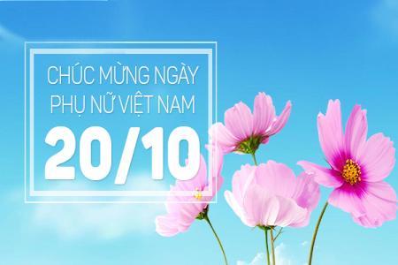 Chia sẻ 10 thiệp chúc mừng ngày phụ nữ Việt Nam 20-10 đẹp nhất