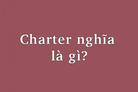 Charter  nghĩa  là gì?