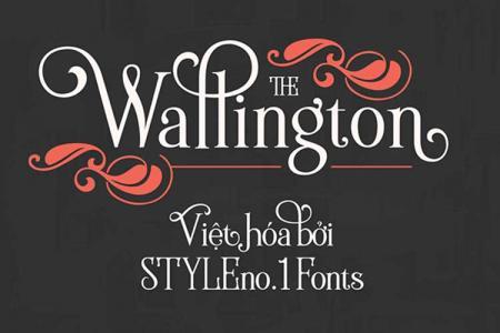 Font chữ serif Wallington Việt hóa