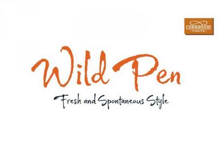Font chữ viết tay Wild Pen Việt hóa