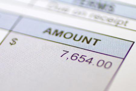 Thành Tiền trong tiếng anh  thường viết như thế nào ?
