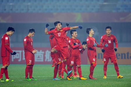 Wallpaper Hình nền đội tuyển U23 Việt Nam cho điện thoại