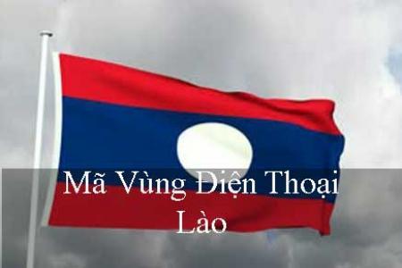 Bảng mã vùng điện thoại Lào