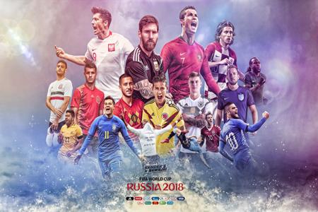 World Cup 2018 - Hình nền các đội tuyển tham dự world cup 2018