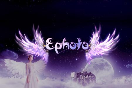 Cách tạo hiệu ứng chữ Galaxy cánh thiên thần trên nền trời sao đẹp lãng mạn cực kỳ