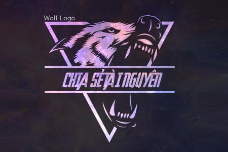 Hướng dẫn tạo logo Galaxy Wolf bằng công cụ online nhanh và đẹp
