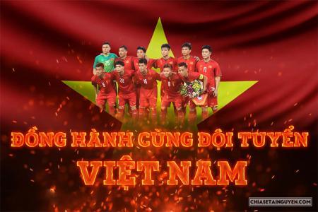Chia sẻ banner cổ vũ bóng đá Việt Nam chiến thắng AFF Cup 2018