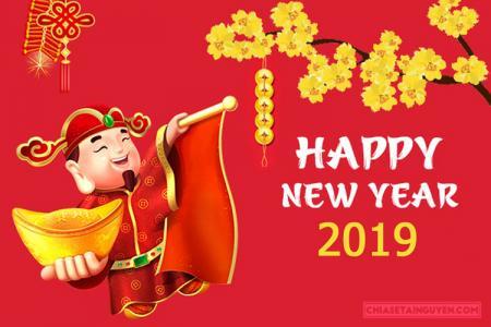 Lời chúc năm mới 2019 - Câu chúc tết năm mới 2019 hay và ý nghĩa nhất